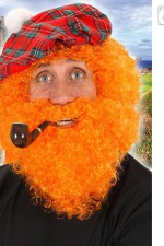 6494A Scot / St Patrick's Day Curly Wig and Beard