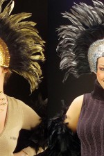 6608M Feathered headress