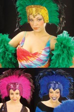 6609Z Feathered headress