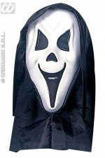 6738Y Ghost Mask With Hood