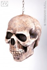 6883C Hanging skull with chain decoration