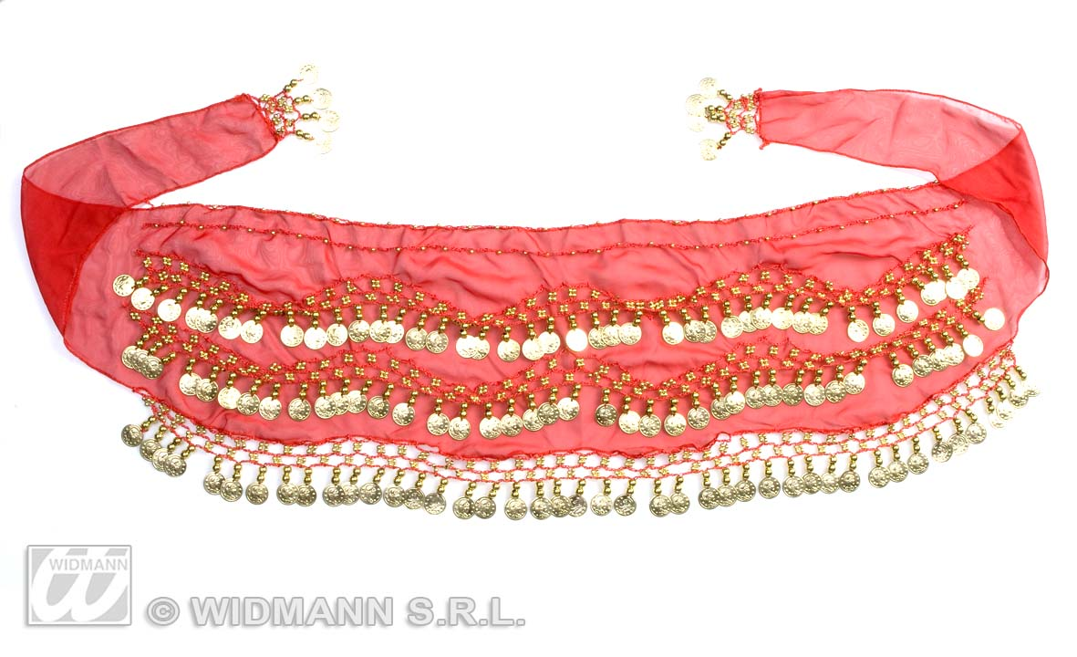 6952E Belly Dancer Waist Sash