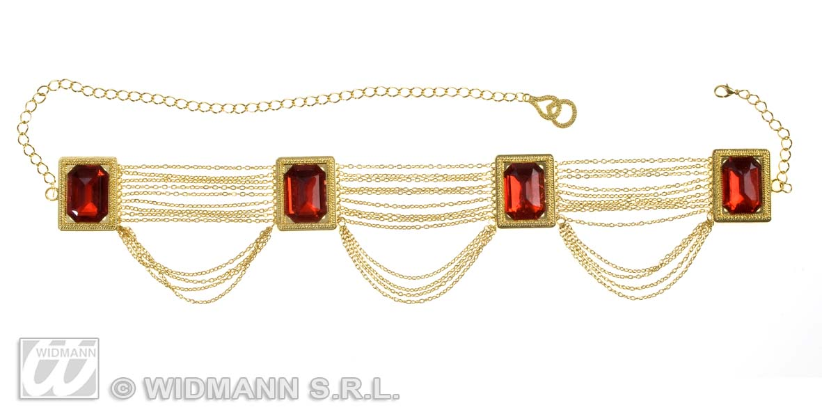 6956R Harem Dancer Belt with Gems
