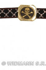 7091F Pirate Belt With Buckle