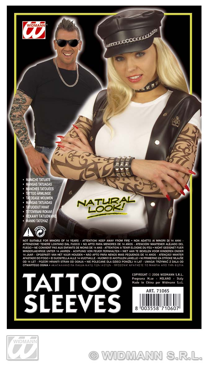 7106S Tattoo Sleeves