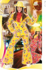 7220W Flower party suit XL