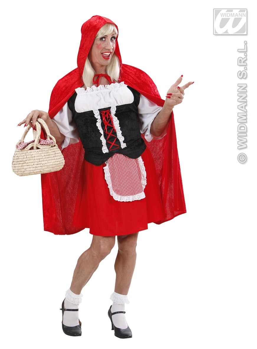 7355R Red Riding Hood Dress
