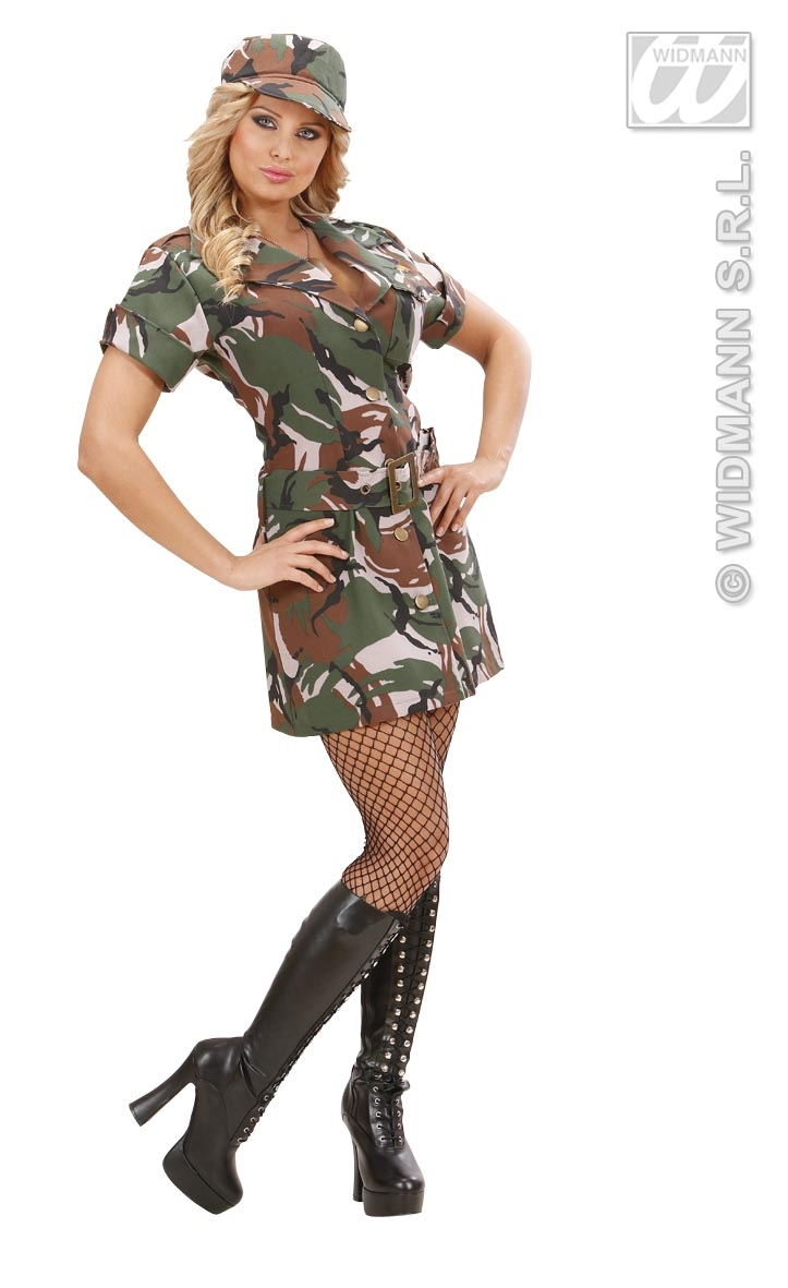 73632 US Army Soldier Girl