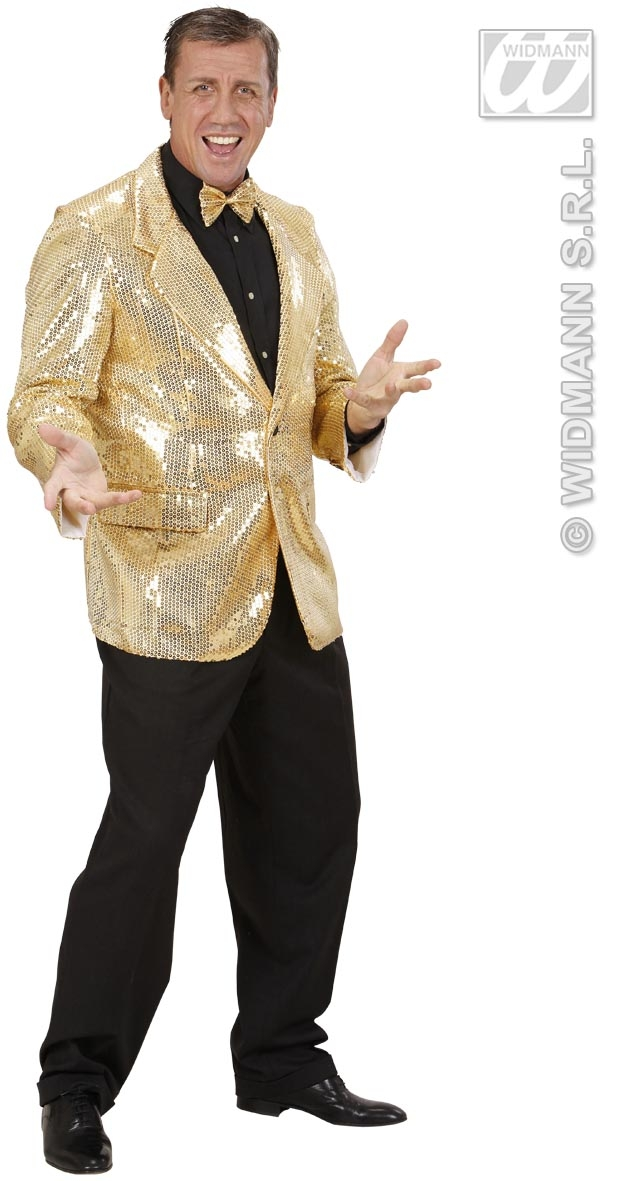 74092 Gold Sequin Jacket