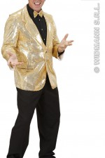 74093 Gold Sequin Jacket