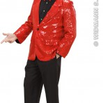 74152 Red Sequin Jacket