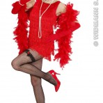 77421 Red Flapper Dress