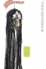 7874T sound activated talking hooded skulls