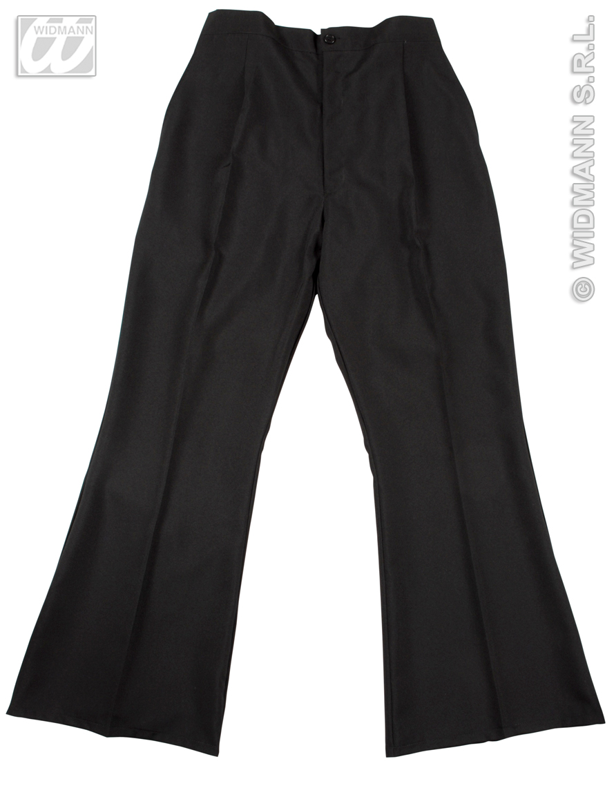 8096N/8097X Black Flare Trousers