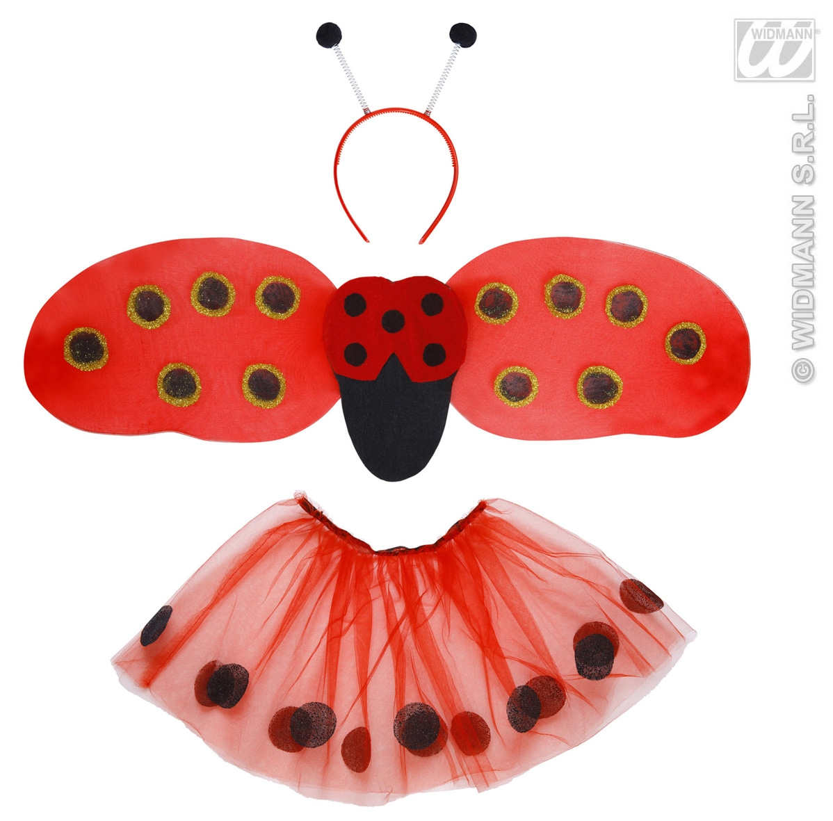 8222L Ladybird Dress Up Set