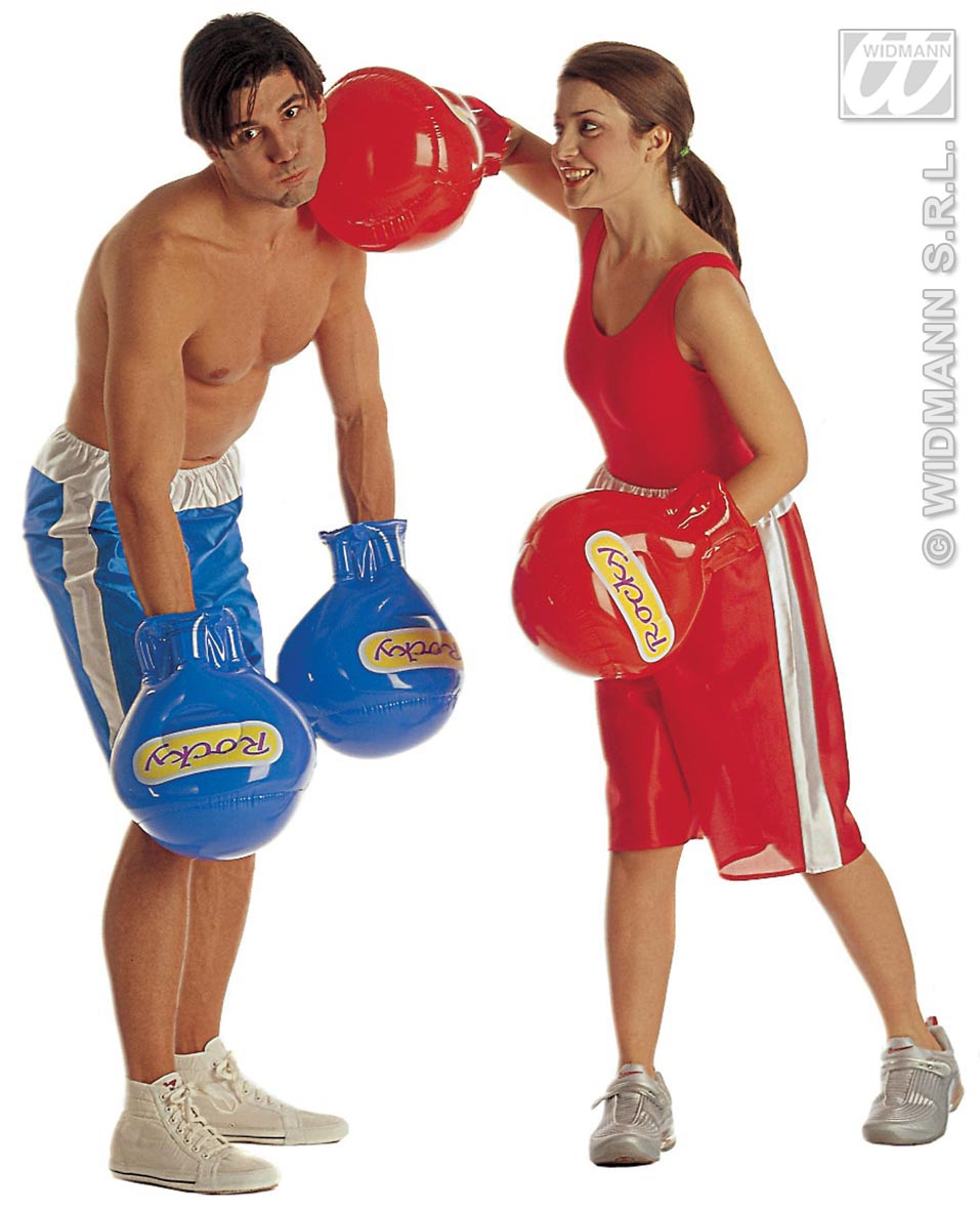8513G Inflatable Boxing Gloves