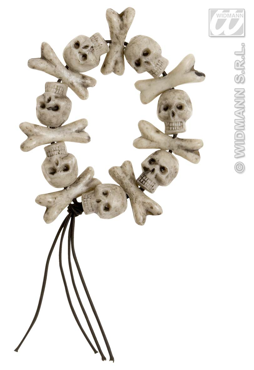 8596T Skull & Cross Bone Bracelet