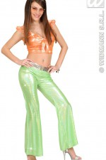 8757Q Green Sequin Trousers