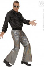 8760T Holographic Disco Trousers