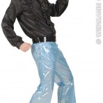8762V Holographic Disco Trousers