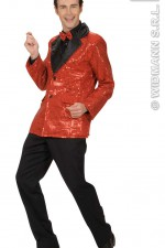 8785C Red Sequin Jacket