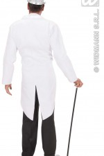 87962/8797W White Tailcoat