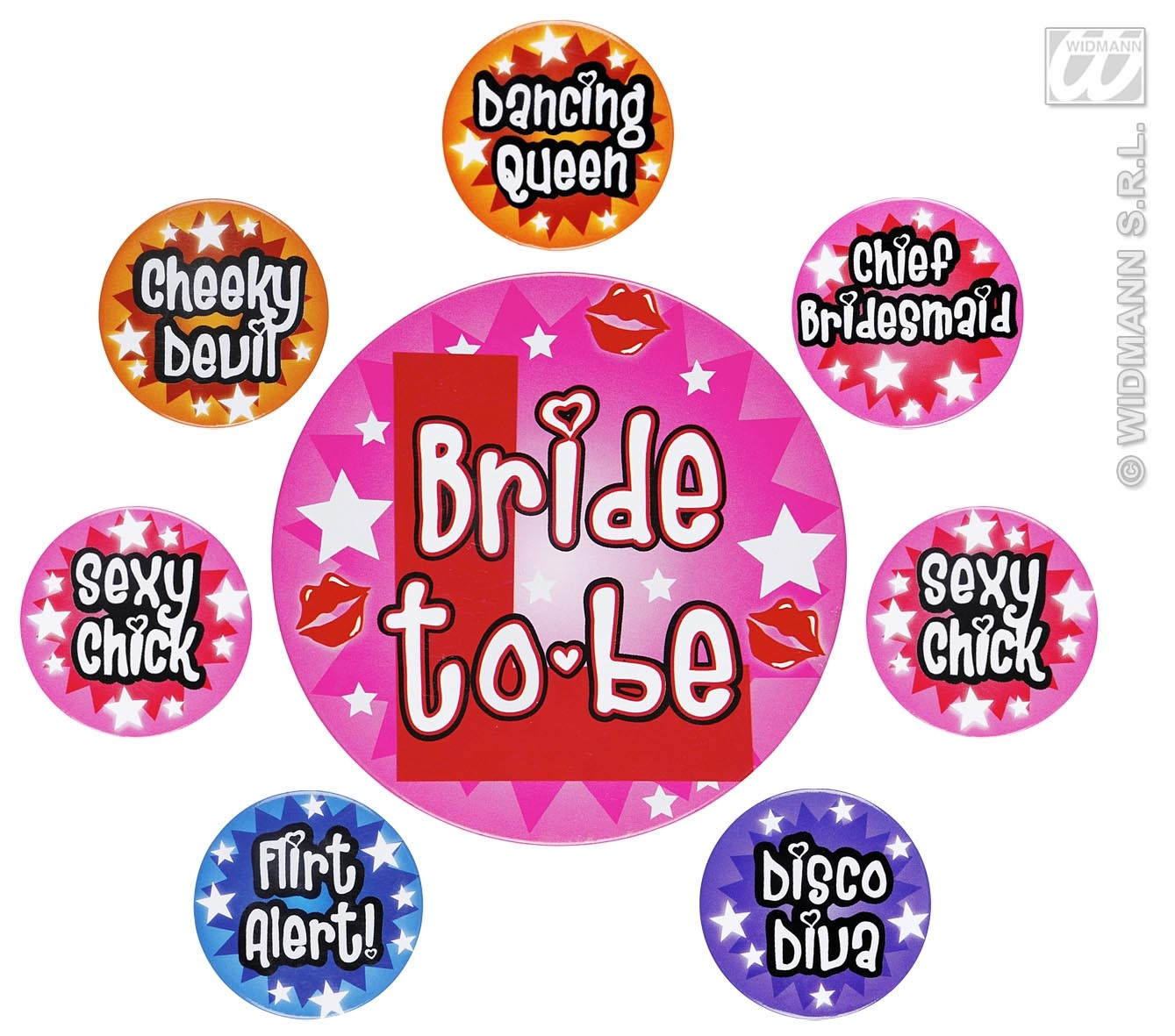 8860T Bachelorette Party Pins