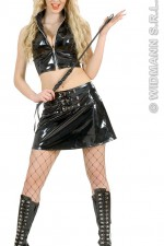 89892 Black Vinyl Top & Skirt