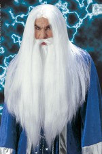 M6137 Wizard Wig & Beard