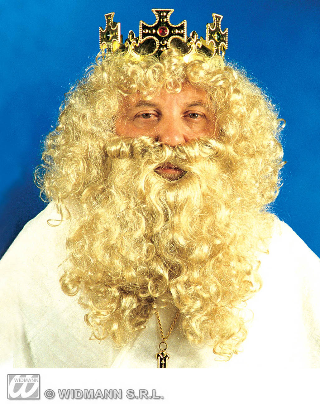 R1510 King Wig With Beard