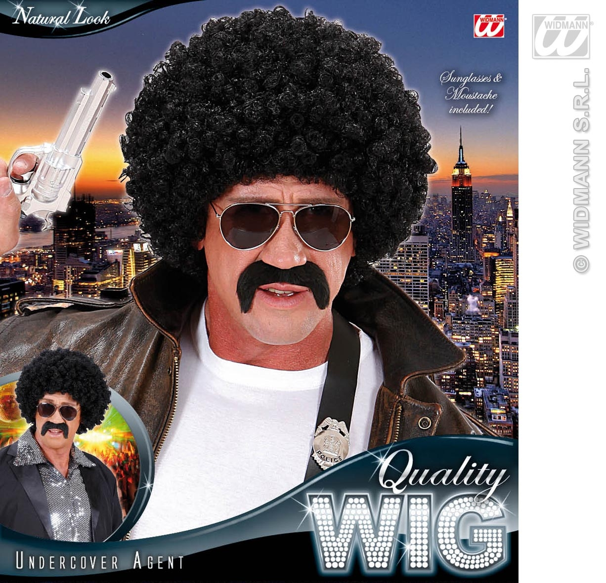 S7601 Afro Wig