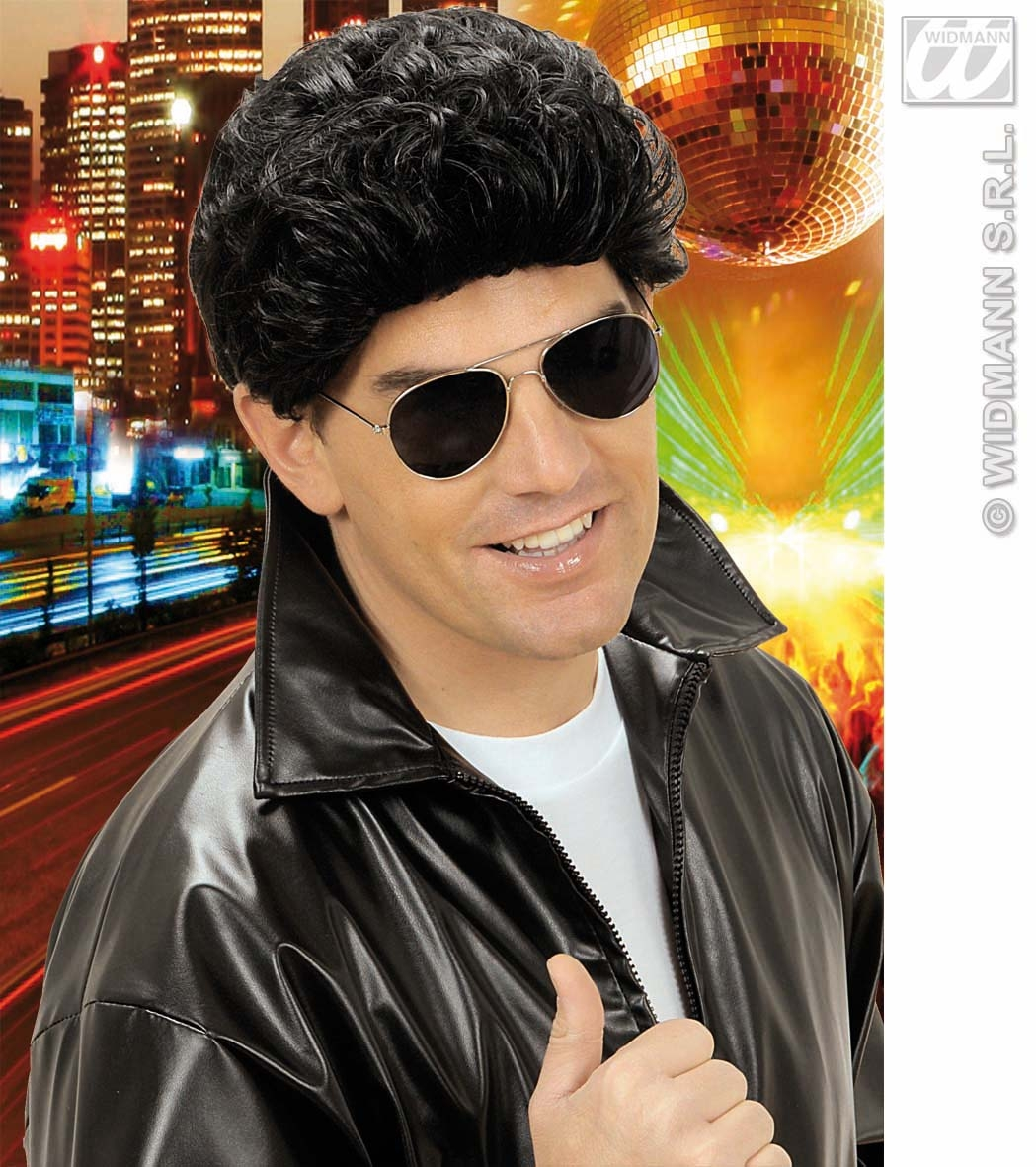 T0801 Greaser Wig