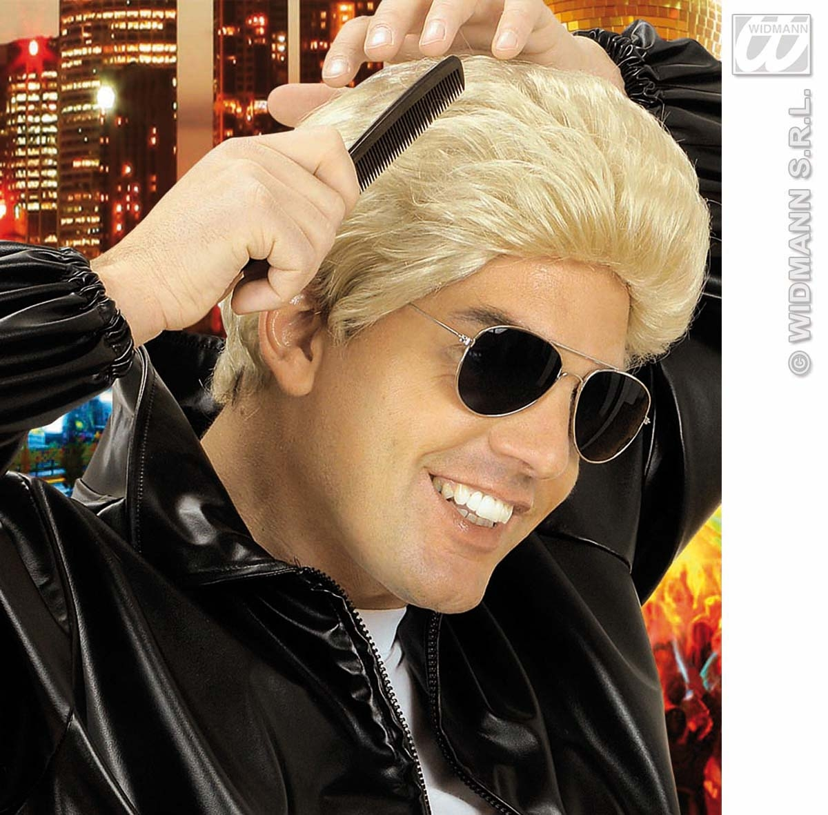 T0802 Greaser Wig