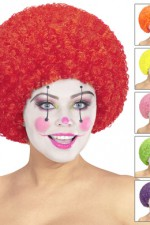 6068U Curly Clown Wig