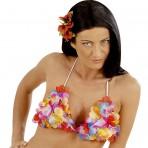 2452B Floral Hawaiian Bra