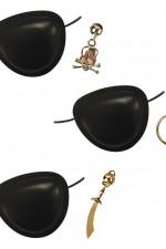 2977P Pirate Eyepatch/Earring Set