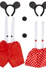 2989T Mouse Dress Up Set