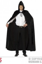 3266N Male Velvet Hooded Cloak