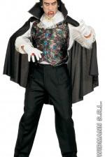 4302V Vampire Waistcoat With Cape