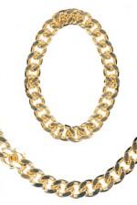 5035F Gangster/Rapper Jewellery Set