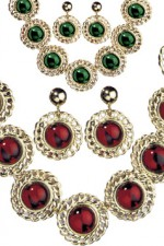 5037G Medieval Queen Jewellery Set