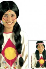 6052A Native Indian Wig
