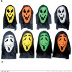 6739F Hooded Ghost Mask