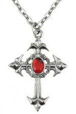 7510K Gothic Cross Necklace