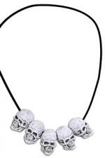 8107S Skulls Necklace