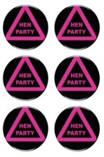 8859S Hen Party Pins