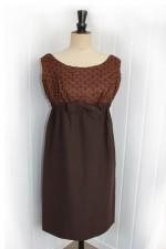 1960's Chocolate Dress