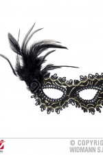 1789N Eyemask with feathers