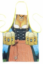 9439W Bavarian beer maid
