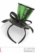 0071K St Patrick's Day Mini Top Hat